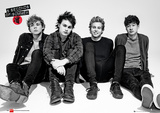 5 Seconds of Summer - Sitting Foil Poster Prints