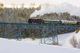 Steam Train, Oberwiesenthal - Cranzhal (Fichtelbergbahn), Germany Photographic Print by  phbcz