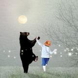 Moonlight Dance Reprodukcja zdjęcia autor Nancy Tillman