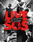 5 Seconds of Summer - Live SOS Affiche