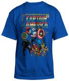 Captain America - Premiere T-shirts