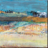 Hot Springs Stretched Canvas Print by Dominique Samyn