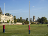 Rugby Fields of Oxford Prints by  searagen
