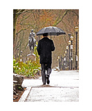 Umbrella Man Photographic Print by Jodi Orr