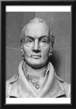 Bust of Aaron Burr (Black and White Photo) Art Poster Print Prints