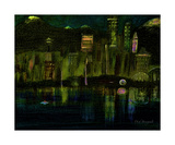 Emerald City Photographic Print by Dick Bourgault
