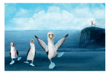 If You Were A Blue Footed Booby Photographic Print by Nancy Tillman