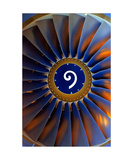 Jet engine Photographic Print by Keith Skelton