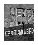 Keep Portland Weird Photographic Print by Thomas Soerenes