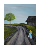 Country Girl Photographic Print by Dick Bourgault