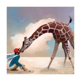 If You Were A Giraffe Photographic Print by Nancy Tillman