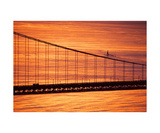 Golden Gate Sub Photographic Print by Keith Skelton