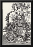 """Albrecht Durer (""""Triumph of the Emperor Maximilian I,"""" Block 1) Print"""