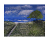 Dunes Along Lake Michigan Photographic Print by Dick Bourgault