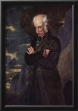Benjamin Robert Haydon - Portrait of William Wordsworth, Art Poster Print Print