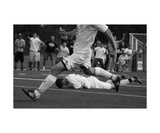 Soccer Black and White Photographic Print by Thomas Soerenes