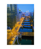 West Wacker Photographic Print by Keith Skelton