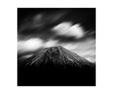 Clouds Over Mount Fuji, Shizuoka Prefecture, Japan Photographic Print by Francesco Libassi