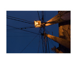 Light Post Photographic Print by Keith Skelton