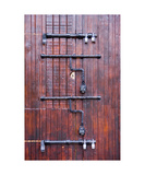 Locked door, Taxco Mexico Photographic Print by Keith Skelton