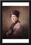 Allan Ramsay (Portrait of Jean-Jacques Rousseau) Art Poster Print Prints