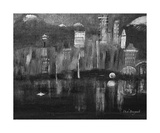 Seattle Black and White Photographic Print by Dick Bourgault