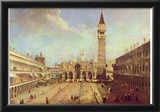 Canaletto (II) (Piazza San Marco) Art Poster Print Photo