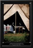 America (Lincoln & McClellens) Art Print Poster Print