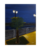 Altamonte Springs Evening Photographic Print by Dick Bourgault