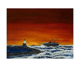 Last Sail of the Season Photographic Print by Dick Bourgault