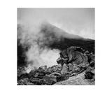 Smoke In Owakudani, Hakone, Japan Photographic Print by Francesco Libassi