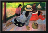 Paul Gauguin (The midday rest) Art Poster Print Posters