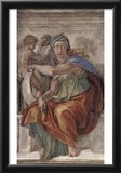 Michelangelo Buonarroti (Ceiling fresco of Creation in the Sistine Chapel, scene in Bezel: The Delp Print