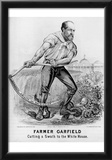 James A Garfield (Campaign Poster) Art Poster Print Posters