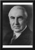 President Warren Harding (Portrait) Art Poster Print Posters