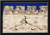 Old Wall (Crack in Wall) Art Poster Print Print