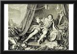 William Hogarth (Garrick in the role of Richard III.) Art Poster Print Prints