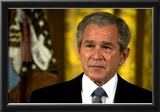 George W Bush (Crying) Art Poster Print Posters