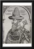 Hans Weigel d. Ä. (Portrait of Tsar Ivan the terrible) Art Poster Print Photo