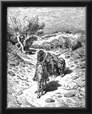 Gustave Doré (Illustration to Cervantes' Don Quixote ') Art Poster Print Photo