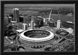 Busch Stadium Aerial St Louis Archival Photo Sports Poster Prints