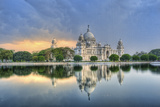 Victoria Memorial in Kolkata Photographic Print by  sudiproyphotography