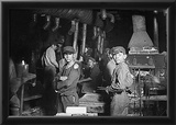 Child Laborers (Glass Works, Midnight, Indiana, 1908) Archival Photo Poster Posters