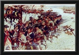 Battle of Guilford Court House (Line of Soldiers) Art Poster Print Photo