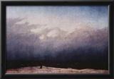 Caspar David Friedrich (Monk by the sea) Art Poster Print Photo
