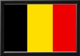Belgium National Flag Poster Print Prints