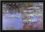 Claude Monet Water-Lilies 4 Art Print Poster Poster
