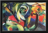 Franz Marc The Mandrill Art Print Poster Photo