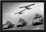 Army Tanks M4 Archival Photo Poster Print Prints