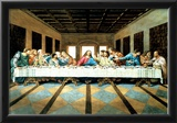 Last Supper Art Print Poster Jesus Christ Leonardo da Vinci Photo